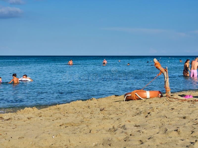 Geschoten van het mooie tropische strand van San Lorenzo stock fotografie