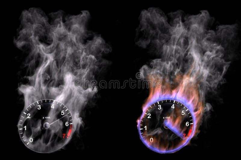 Geschwindigkeit vektor abbildung