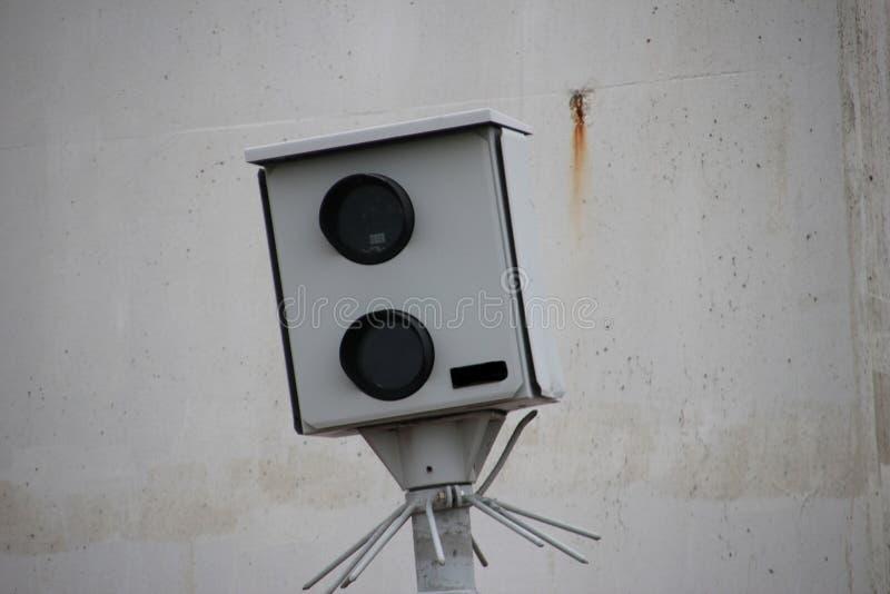 Geschwindigkeitskamera der Polizei in den Niederlanden stockfoto