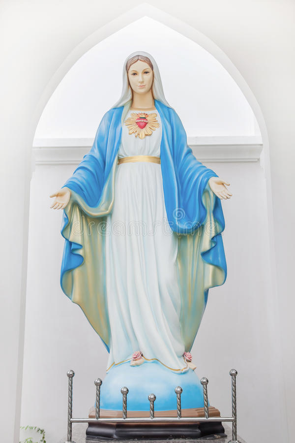 Gesegnete Jungfrau Maria stockfotos