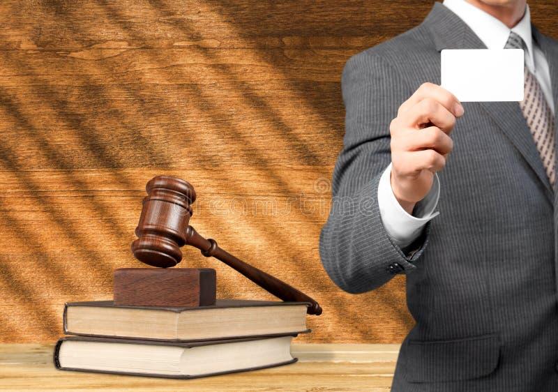 Gesetz, Rechtsanwalt, Bücher lizenzfreie stockfotos