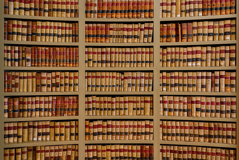 Gesetzbücher stockbilder