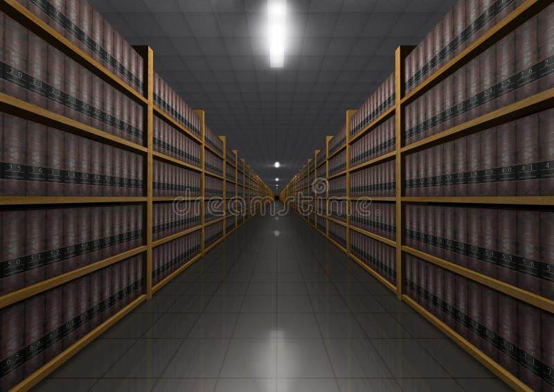 Gesetzbibliothek lizenzfreie abbildung