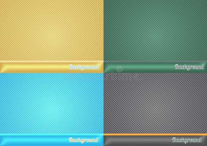 Gesetzter abstrakter Hintergrund für Darstellung stock abbildung
