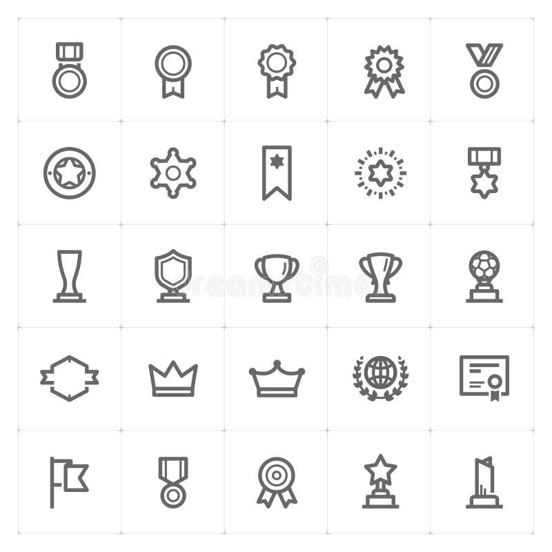 """Gesetztes †Mini Icons """"Preisikone stock abbildung"""