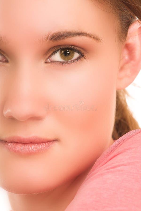 Gesicht - Digital-Gestaltungsarbeit lizenzfreies stockbild