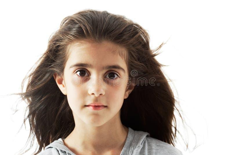 Gesicht einer jungen Schönheit stockbild