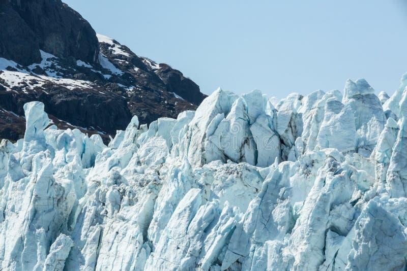 Gesicht eines Gletschers stockbilder