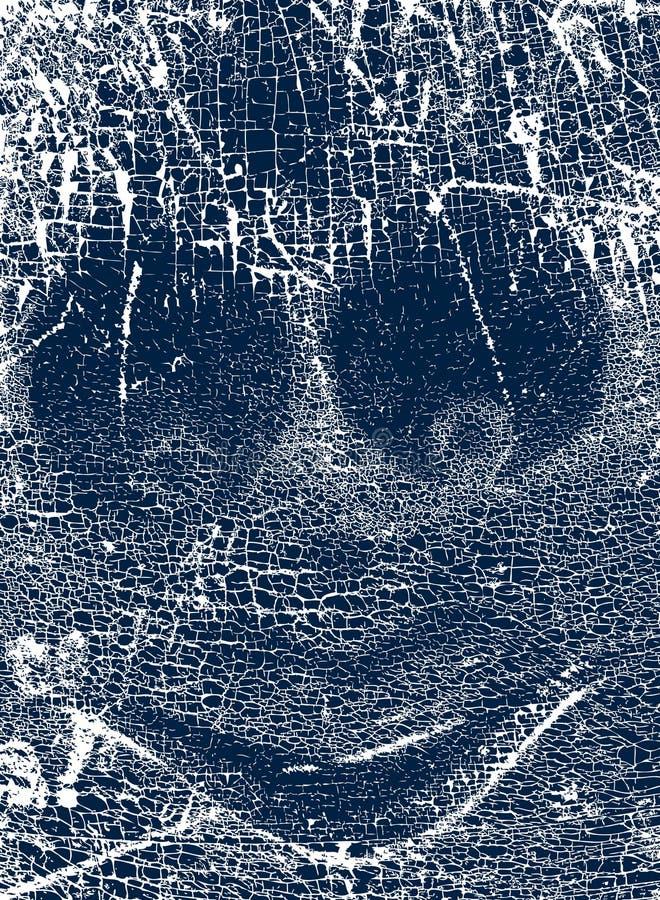 Gesicht grunge vektor abbildung