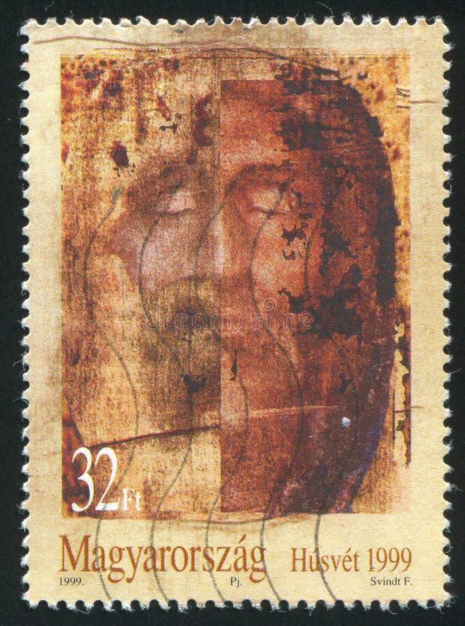 Gesicht von Jesus Christ lizenzfreies stockfoto
