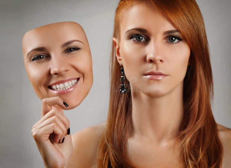 Gesichter lizenzfreie stockfotografie
