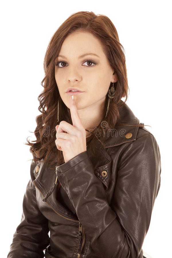 Gesichts-Ausdruckfrauenruhe stockbilder