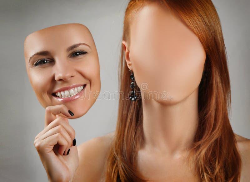 Gesichtslos lizenzfreies stockbild