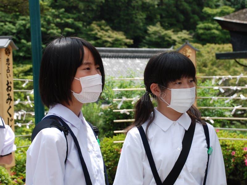 Gesichtsmasken stockbilder