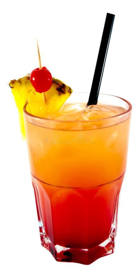 Geslacht op de cocktail van het Strand royalty-vrije stock fotografie