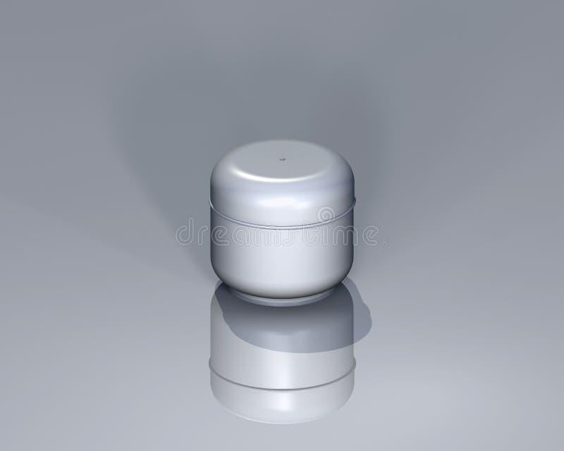 Gesloten container royalty-vrije illustratie