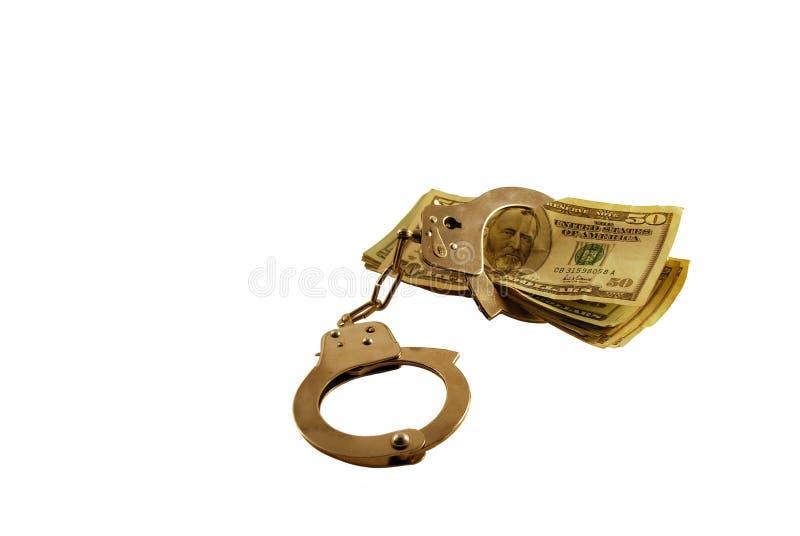 Gesloten door de Kwesties van het Geld royalty-vrije stock foto