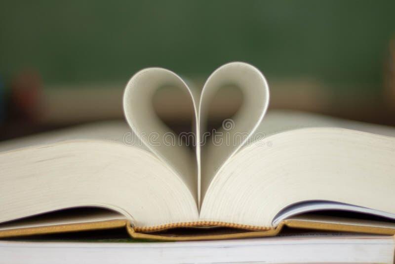 Gesloten hartvorm stock foto