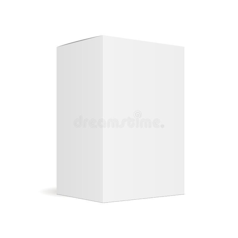 Gesloten rechthoekige doos royalty-vrije illustratie