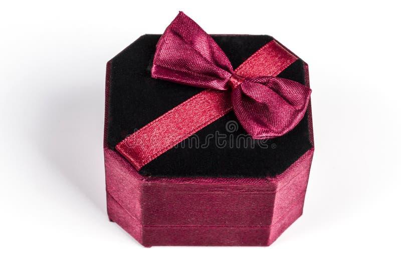 Gesloten Redand-Zwarte doos stock fotografie