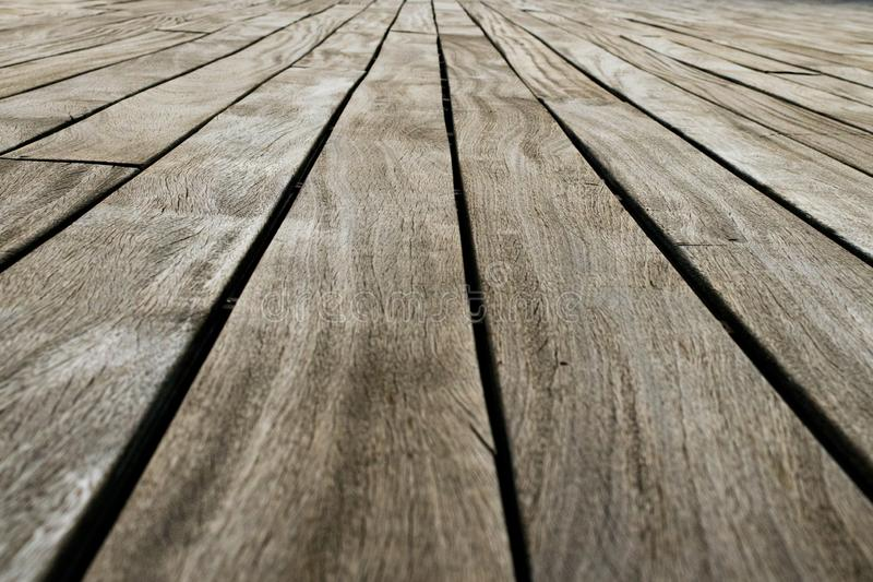 Gesmede natuurhouten vloerbedekking stock afbeeldingen