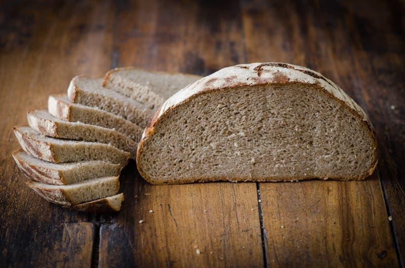 Gesneden brood royalty-vrije stock foto