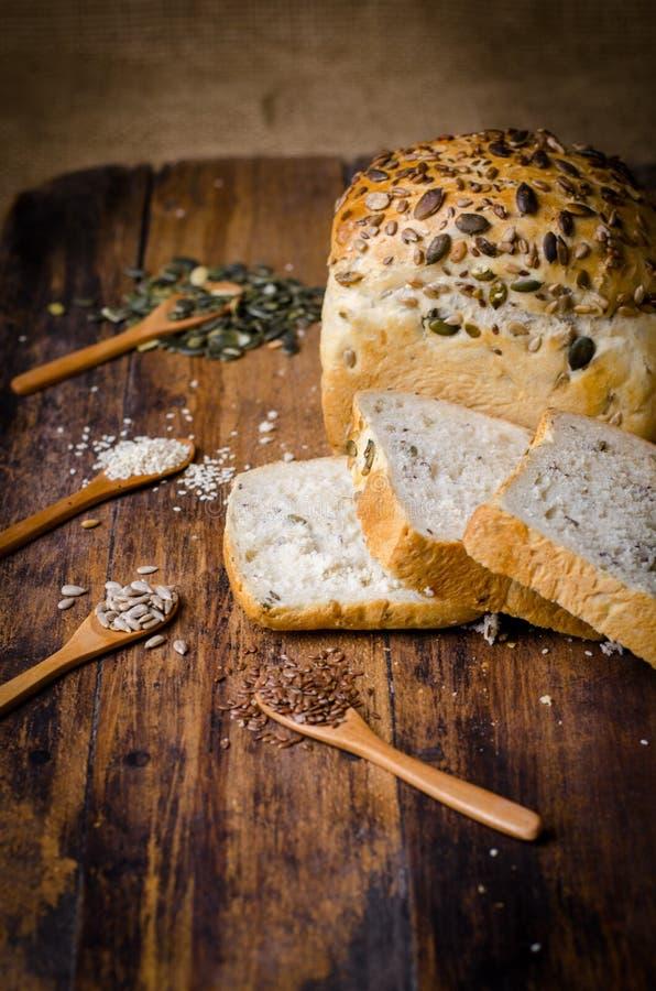 Gesneden brood royalty-vrije stock afbeelding
