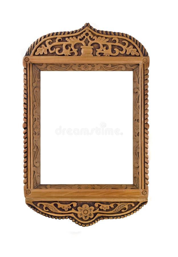 Gesneden Frame voor beeld of geïsoleerd portret stock foto's