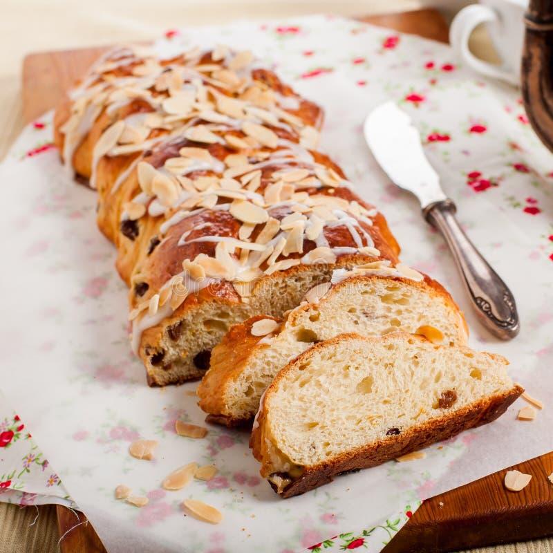 Gesneden Gevlecht Zoet Brood stock afbeelding