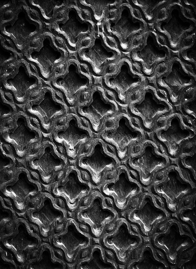 Gesneden houten textuur stock afbeelding