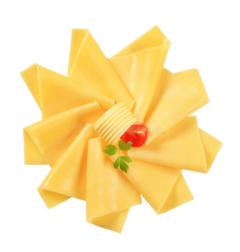 Gesneden kaas stock afbeeldingen