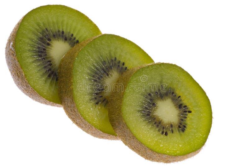 Gesneden?? Kiwi Fruit Royalty-vrije Stock Fotografie