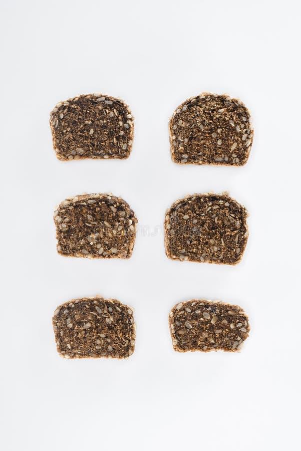 Gesneden multigrain brood stock foto
