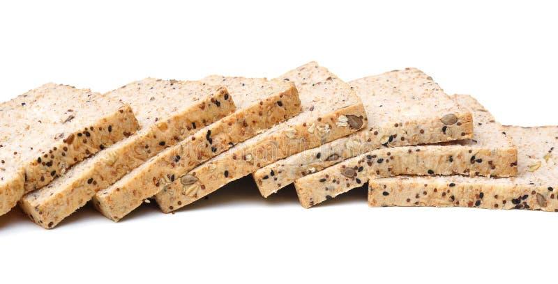 Gesneden multigrain brood stock afbeelding