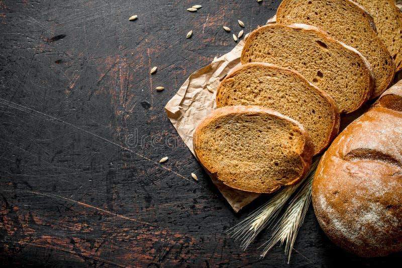 Gesneden vers brood royalty-vrije stock fotografie