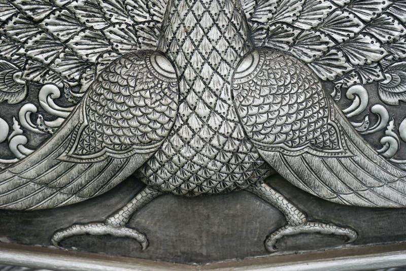 Gesneden verzilverde tafelgereien royalty-vrije stock afbeelding