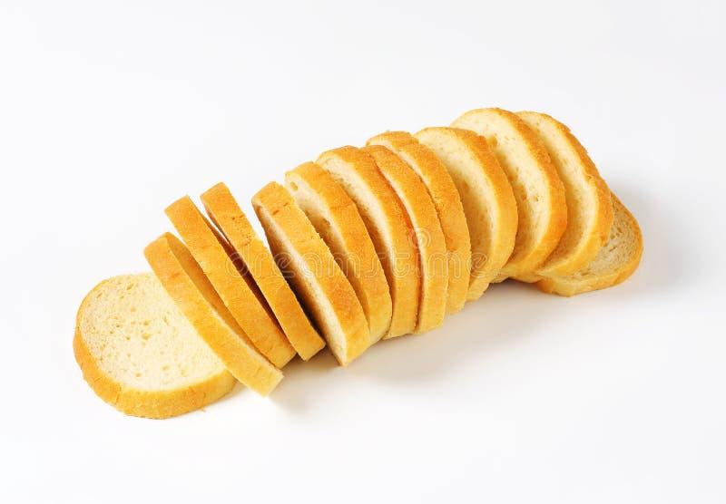 Gesneden wit brood stock afbeeldingen