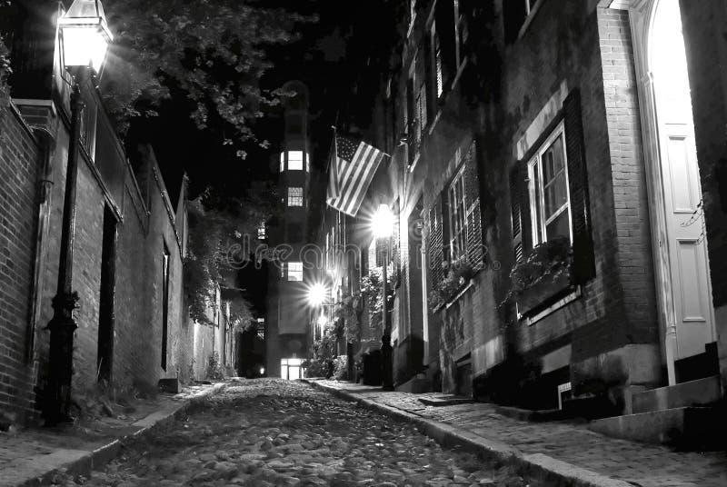 Gespenstisches Boston lizenzfreie stockfotos
