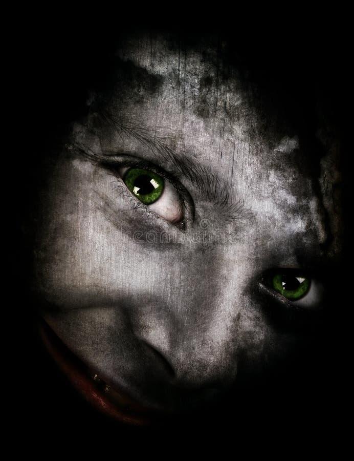 Gespenstisches Monster lizenzfreies stockfoto