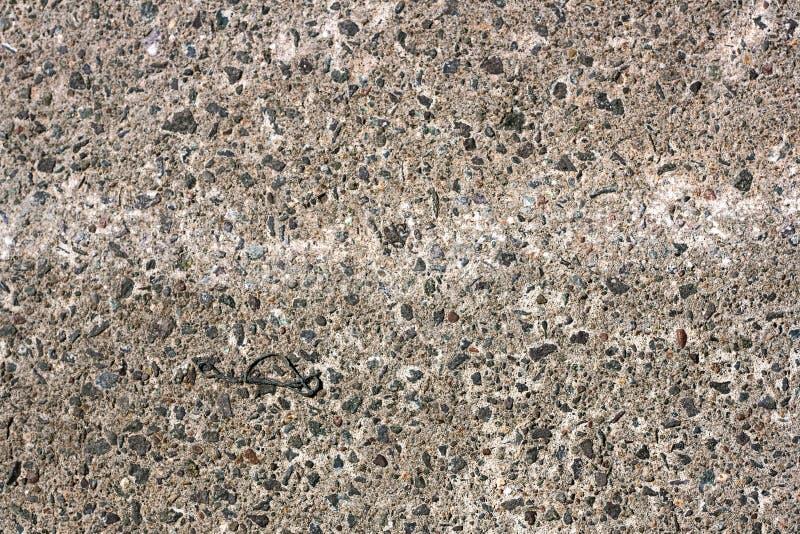Gespikkeld Rocky Concrete Texture stock afbeeldingen