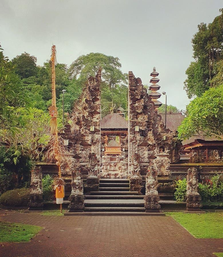 Gespleten gateway, Bali stock foto