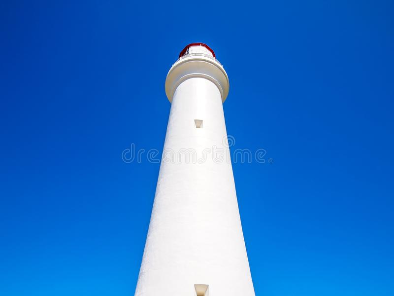 Gespleten puntvuurtoren, langs de Grote Oceaanweg royalty-vrije stock foto's