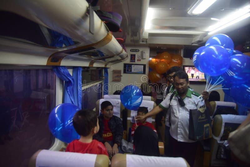 Gespleten vrije ballons voor de reizigers royalty-vrije stock afbeeldingen