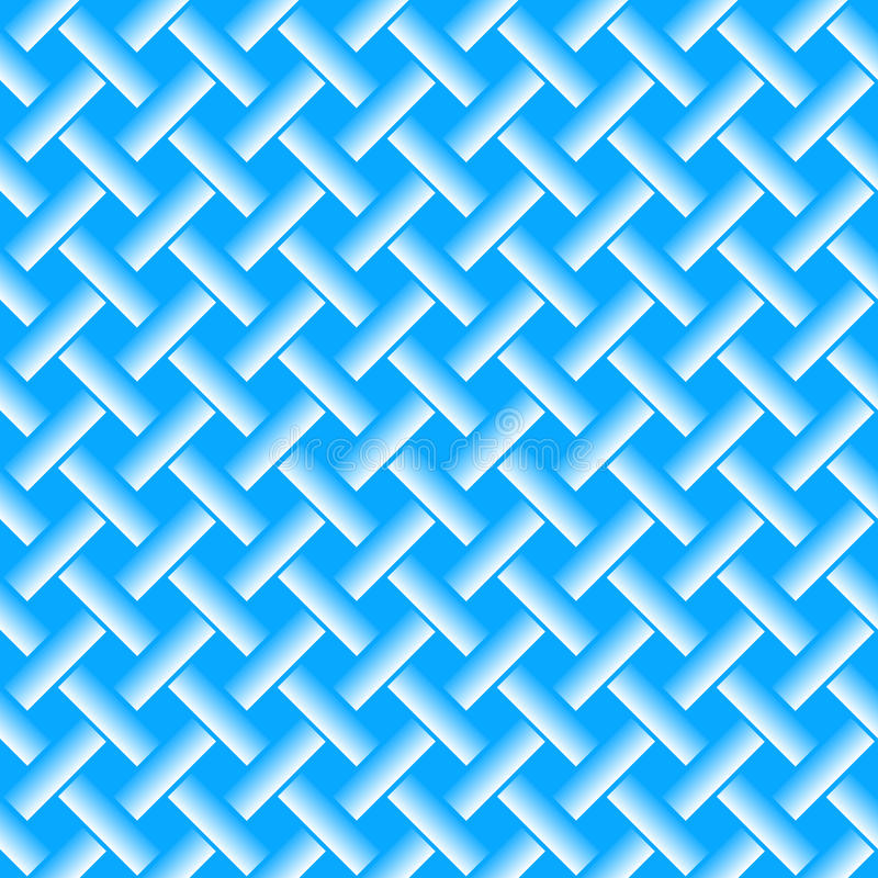 Gesponnene Linien nahtloses Muster vektor abbildung