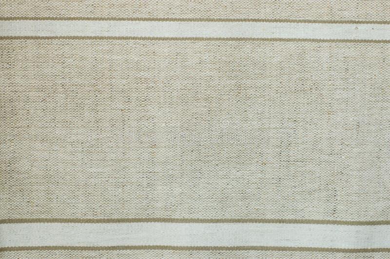 Gesponnenes Segeltuch mit natürlichen Mustern stockfotografie
