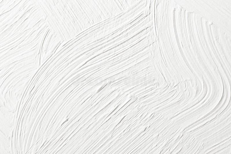 Gesso bianco strutturato sulla parete immagine di sfondo, struttura fotografia stock libera da diritti