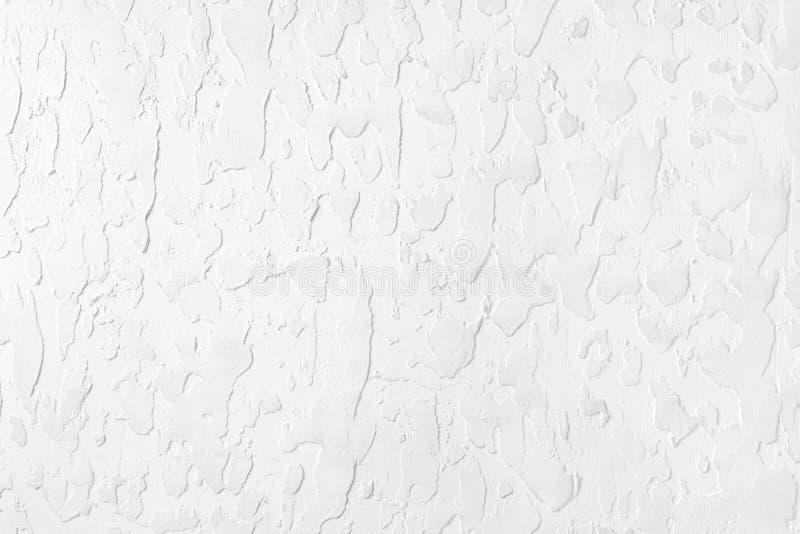 Gesso bianco strutturato sulla parete immagine di sfondo, struttura immagine stock