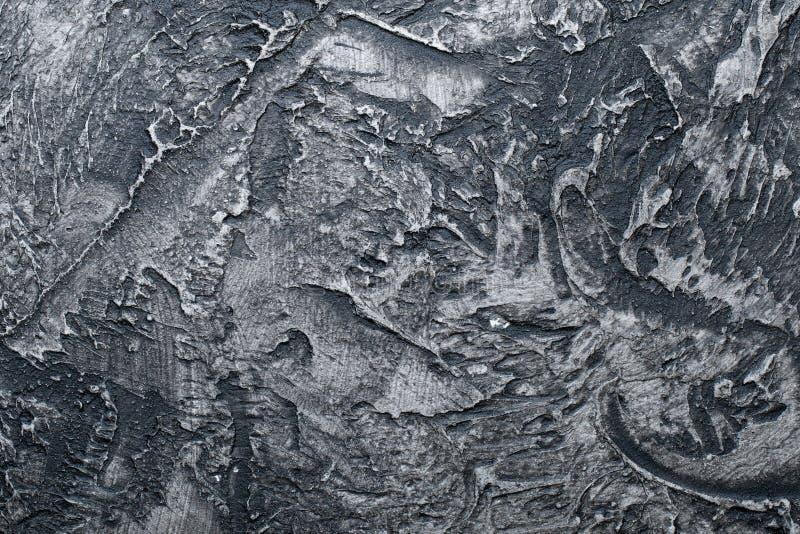 Gesso dipinto strutturato del fondo del gesso, struttura immagini stock
