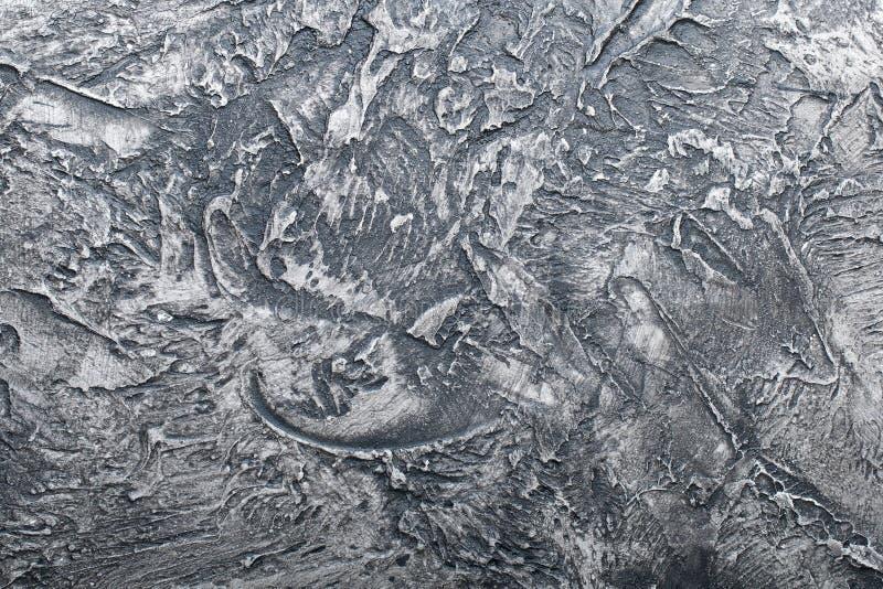 Gesso dipinto strutturato del fondo del gesso, struttura fotografia stock