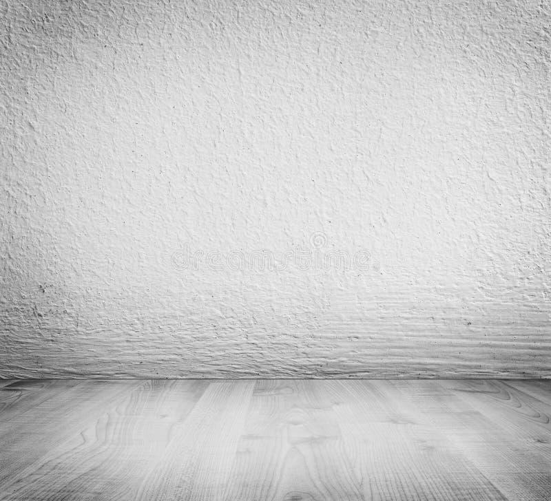 Gesso minimalista bianco, fondo del muro di cemento immagini stock libere da diritti